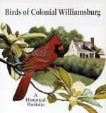 Birds of Colonial Williamsburg (bookcover)