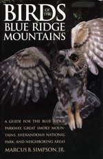 Birds of the Blue Ridge Mountains (bookcover)