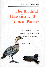 A Field Guide to The Birds of Hawaii and the Tropical Pacific (bookcover)